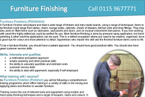 Furniture Finishing