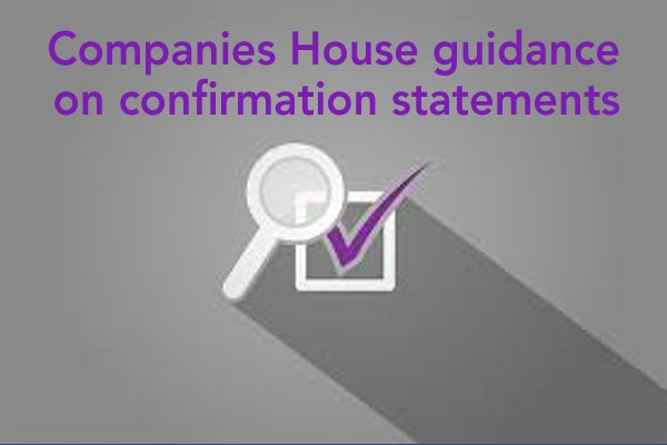 Companies House guidance on confirmation statements
