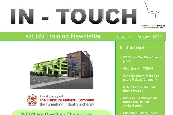 IN-TOUCH Issue 1 Newsletter