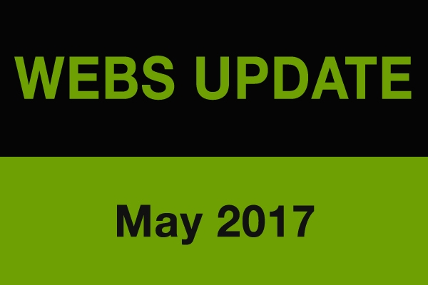 Webs Training May 2017 Newsletter