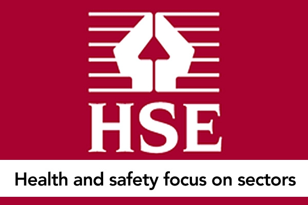 Health and safety focus on sectors