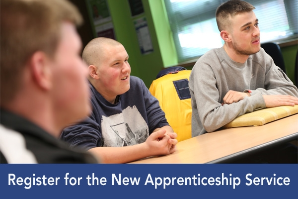 Levy Employers encouraged to register for the new apprenticeship service