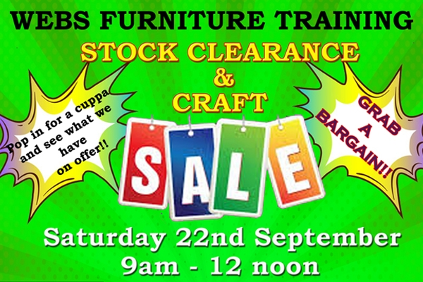 Stock Clearance and Craft Sale
